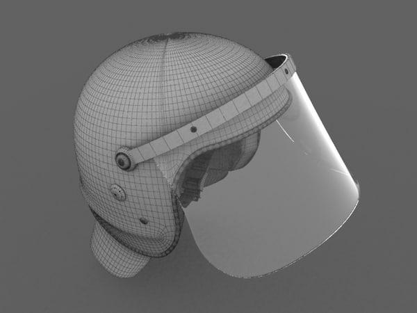 - police helmet 3ds