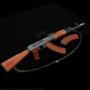 maya weapon guns ak