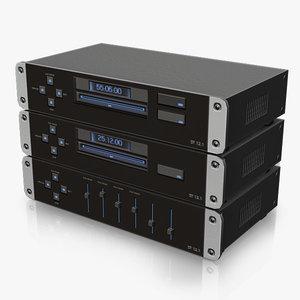 modern stereo 3d obj