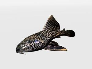 decorative catfish 3d 3ds