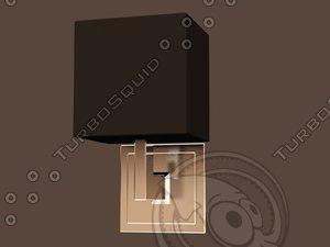 3d model eichholtz lamp wall balthazar