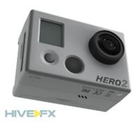 gopro hero ii hd 3d model