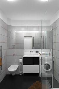 3d model bathroom toilet