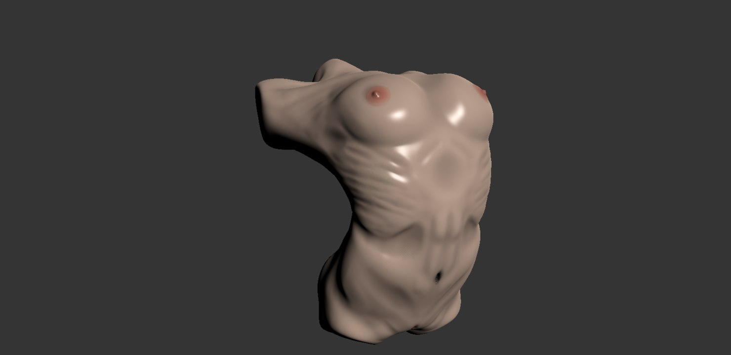 3d model mudbox female
