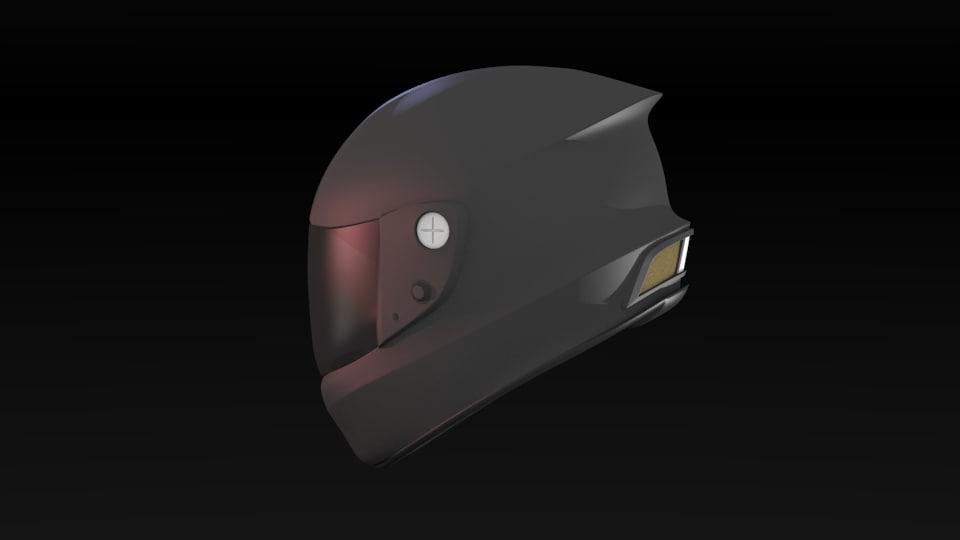 Motorcycle Race Helmet