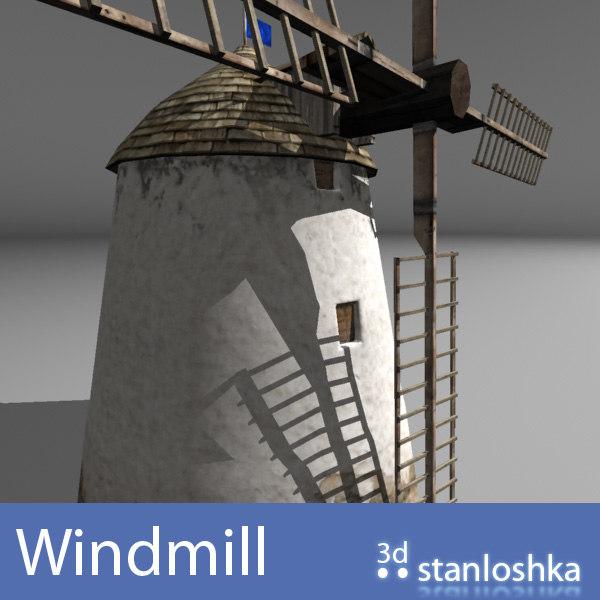 3d windmill blades