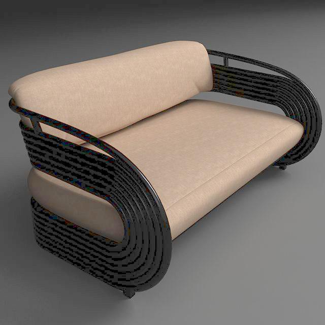 nastro sofa 3d 3ds