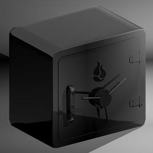 vault safe 3d model