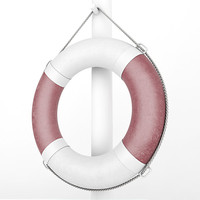 3d lifebuoy rope model