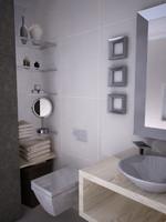 bathroom bath c4d