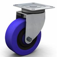 castor wheel 100mm  3DM