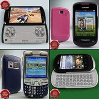 cellphones v15 3d model