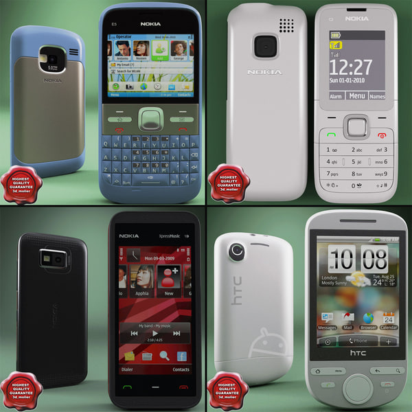 cellphones v21 3d 3ds