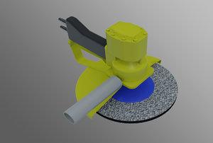 grinder underwater 3d max