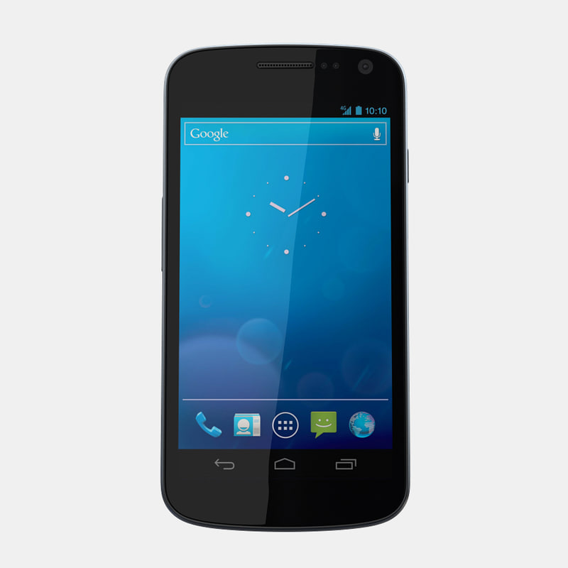 samsung galaxy nexus i515 3d model