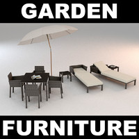 garden furniture chairs set max