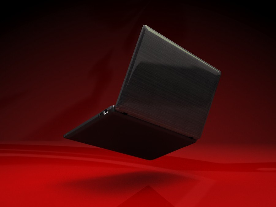 lenovo laptop 3d model