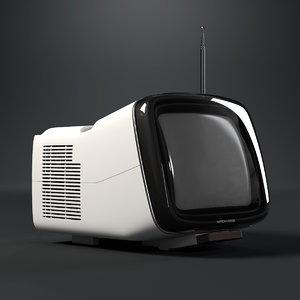 brionvega algol tv 3d max