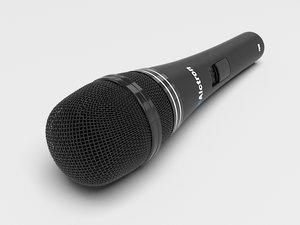 3d microphone mesh