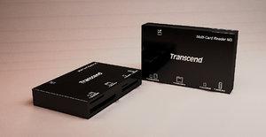 transcend multi card c4d