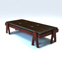 3d angelo mangiarotti daybed model