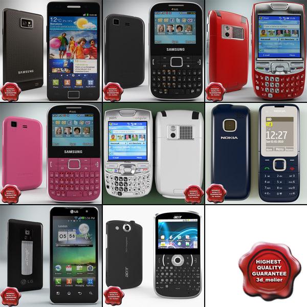 cellphones 49 3d model