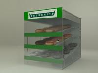 Doughnut Pastry Display