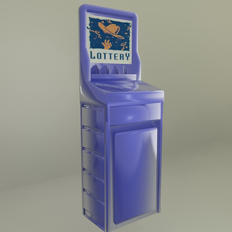 lotto display 3d model