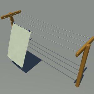 simulation clothes line x