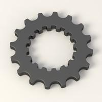 gear wheel c4d