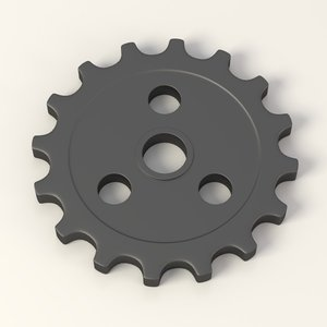 gear wheel 3d 3ds