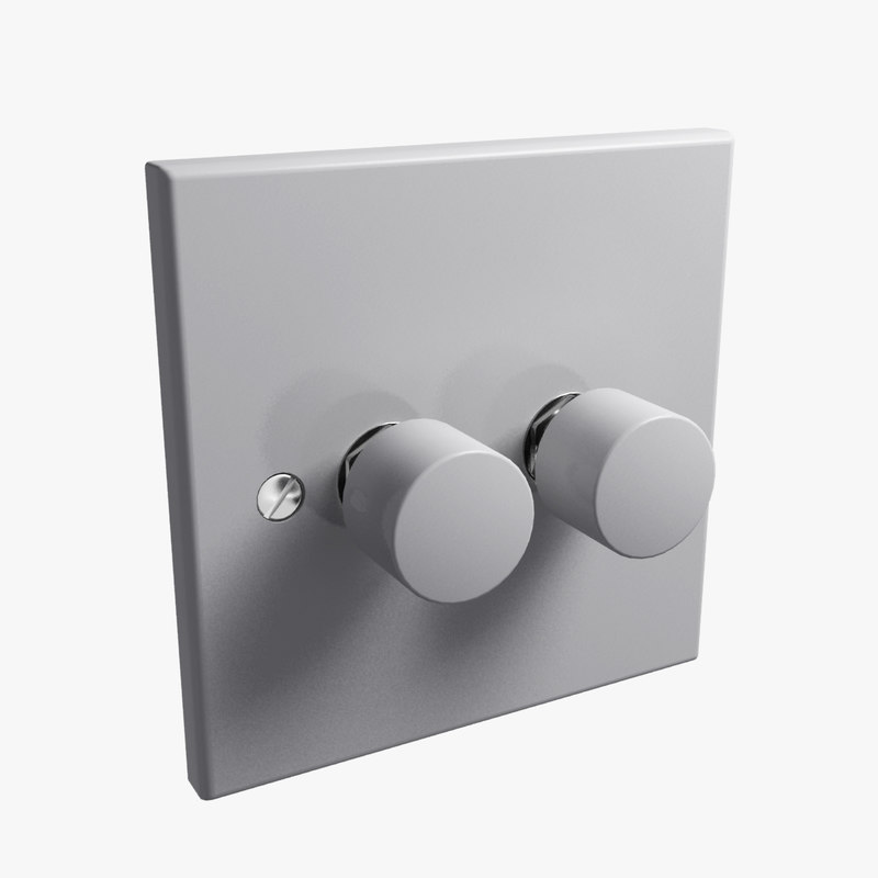 uk double dimmer switch max