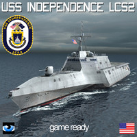 USS Independence LCS 2 with SH60