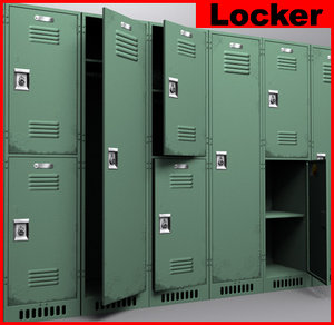 3d locker games