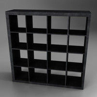 3d ounge shelf mueble salon model