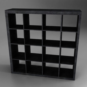3d ounge shelf mueble salon model