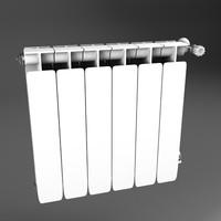 central radiador 3ds