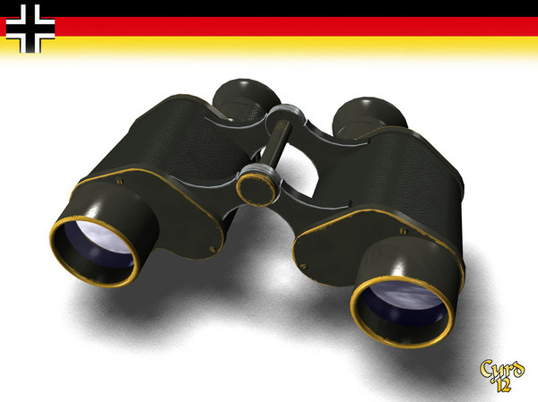3d binoculars germans model