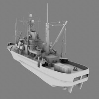 3d usns salvage ship