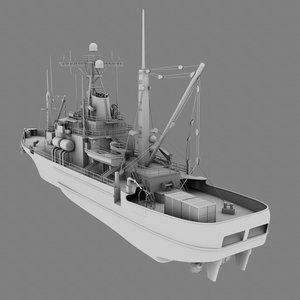 3d usns salvage ship