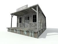 3d house sheriff model