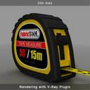 tape measure 3d max