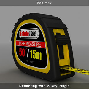 tape measure 3d max