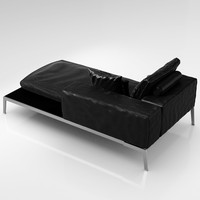 3d model flexform lifesteel 102 cm