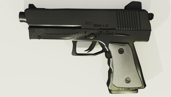 free max mode pistol