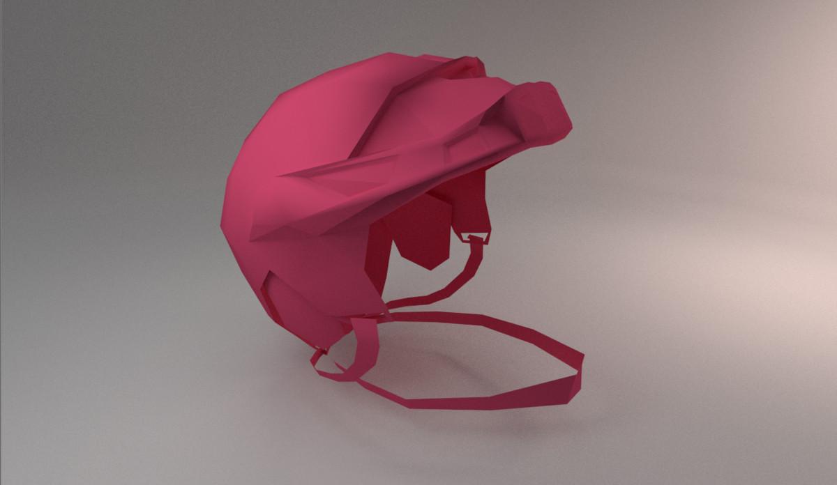 hockey helmet 3d max