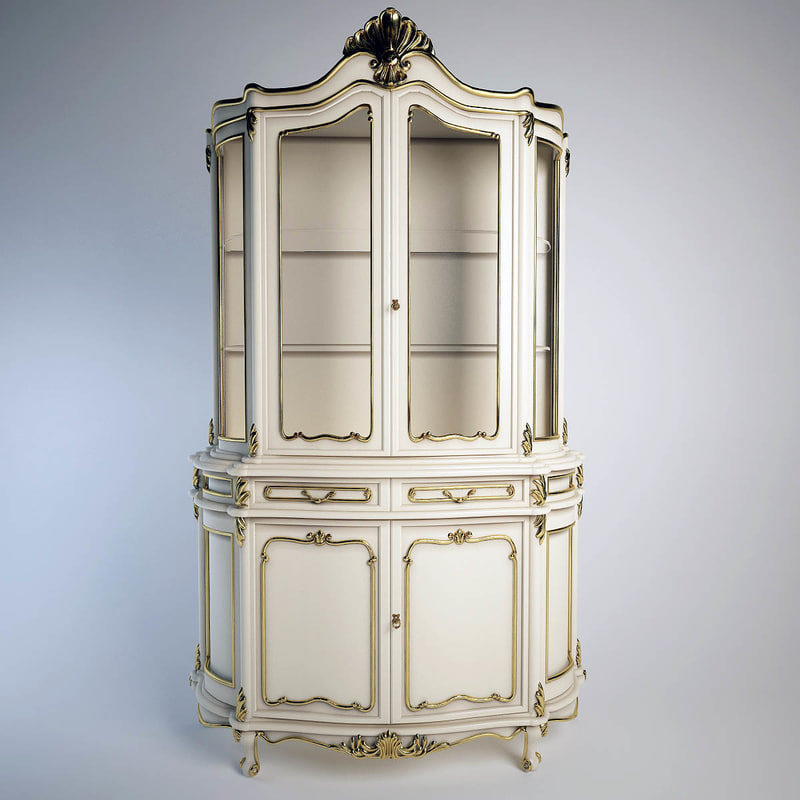 3d glass cabinet 2 angelo cappellini model