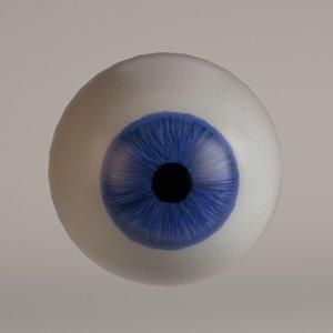 human eye 3d 3ds