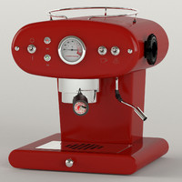 coffee machine francisfrancis 3d obj