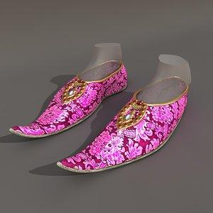 3d turkish boots